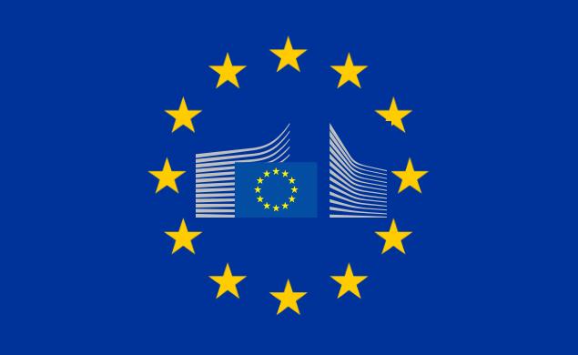 Commissione-europea-bandiera